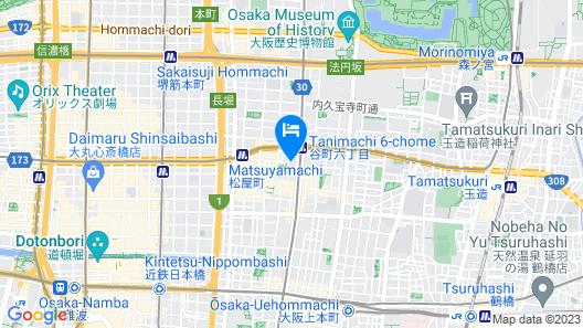 M.Granz Tanimachi 4-chome Map