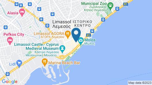 S Paul Hotel Map