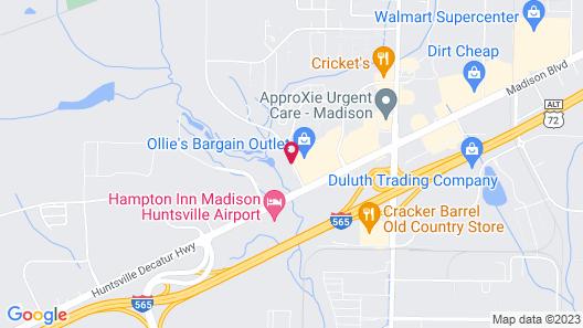 La Quinta Inn & Suites by Wyndham Huntsville Airport Madison Map