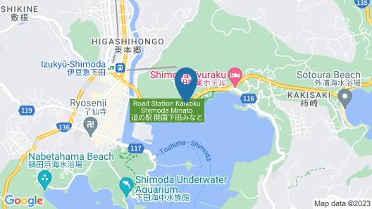 Kurofune Hotel Map