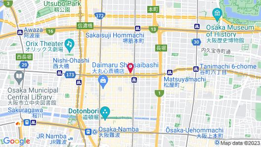 HOTEL LiVEMAX SHINSAIBASHI-EAST Map