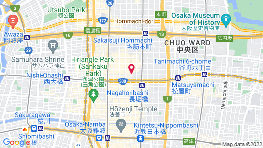 Catalyst Art Hotel Map