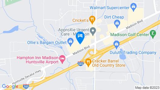 Econo Lodge Madison, AL Map