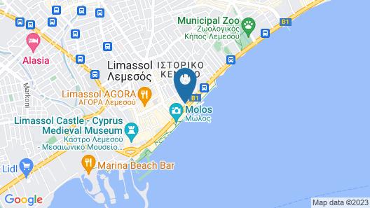 White Hostel Map