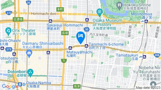 Maison De 9 Osaka Tanimachi Map