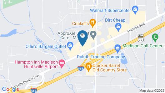 Quality Inn Madison Huntsville Decatur Hwy Map