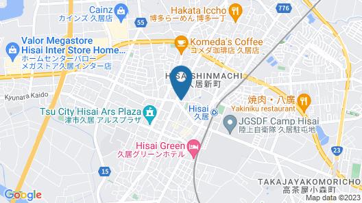 Hen da Kara Hotel Map