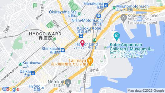 HOSTEL NAKAMURA Kobe Map