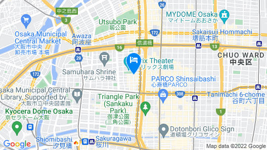 Daiwa Roynet Hotel Yotsubashi Map