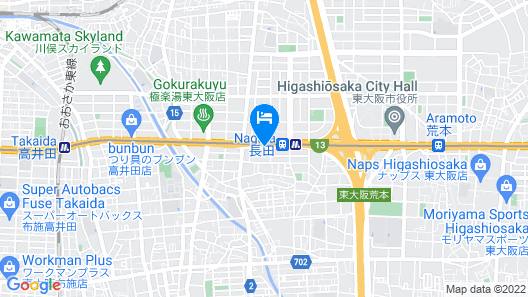 Richmond Hotel Higashi Osaka Map