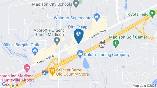 Red Roof Inn PLUS+ Huntsville - Madison Map