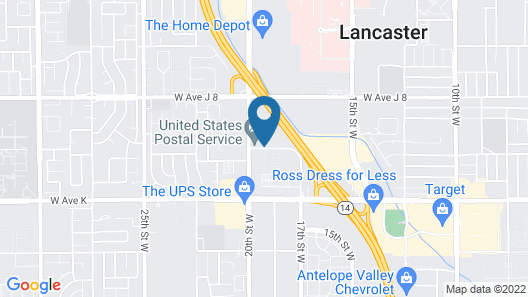 SpringHill Suites by Marriott Lancaster Map