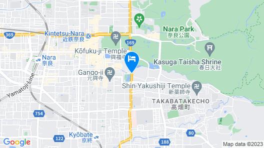 Nara Hotel Map