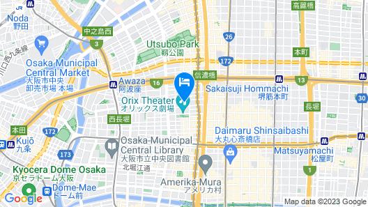 Sakura Sands Hotel Map