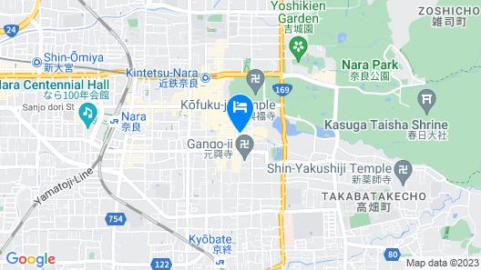 Ryokan Matsumae Map