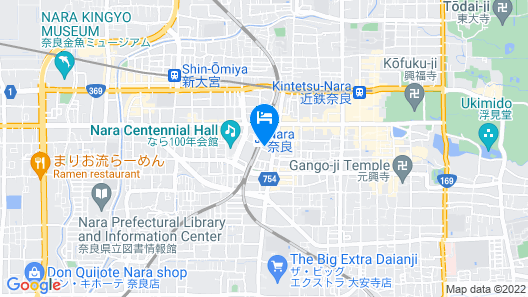 SUPER HOTEL Lohas JR NARA-EKI Map