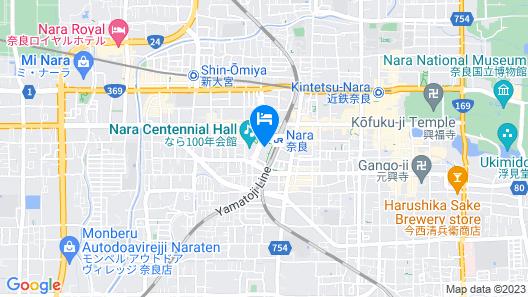 Daiwa Royal Hotel D-PREMIUM NARA Map