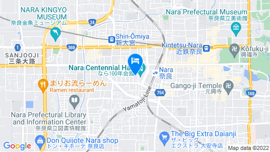 Hotel Rokune Map