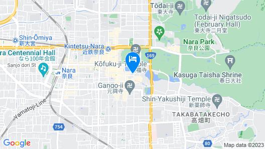 NARA Visitor Center & Inn Map