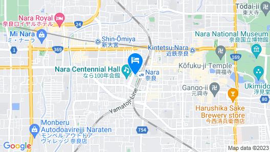PIAZZA HOTEL NARA Map