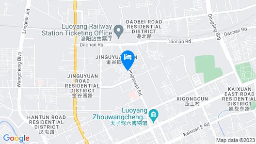 Ramada by Wyndham Luoyang Downtown Map