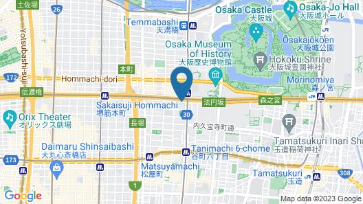 APA Villa Hotel Osaka-Tanimachi 4 Chome-Ekimae Map