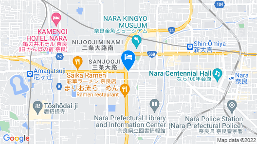 Hotel Asyl Nara Annex Map