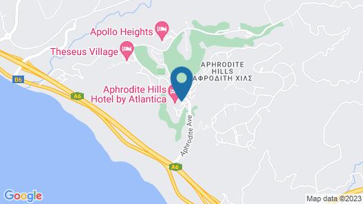 Atlantica Aphrodite Hills Hotel Map