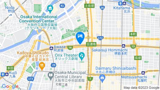 S-PERIA INN OSAKA HOMMACHI Map