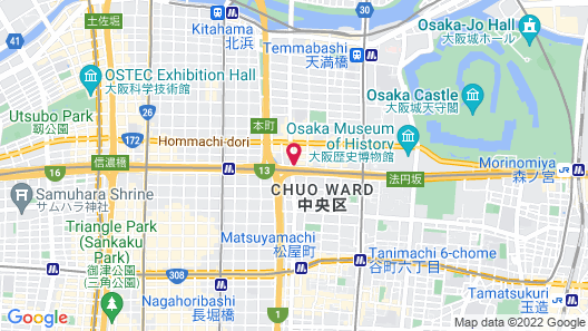 &And Hostel Hommachi East Map