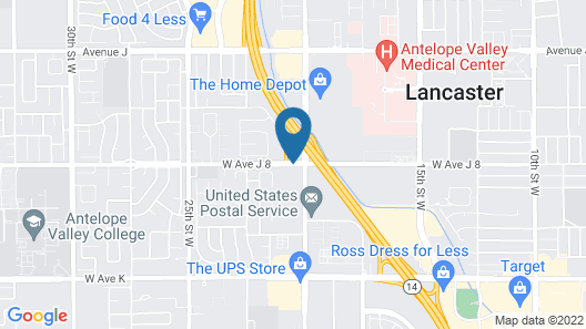 TownePlace Suites by Marriott Lancaster Map