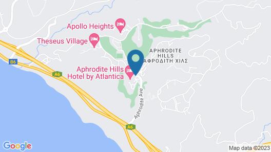 Aphrodite Hills Golf & Spa Resort Residences - Apartments Map