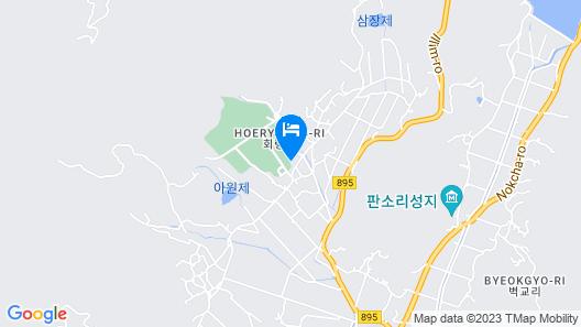 Boseong Gureumsogui Sanchaek Pension Map