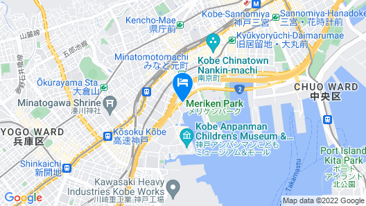 Hotel La Suite Kobe Harborland Map