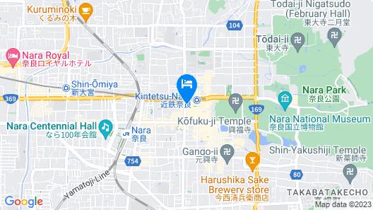 Henn na Hotel Nara Map