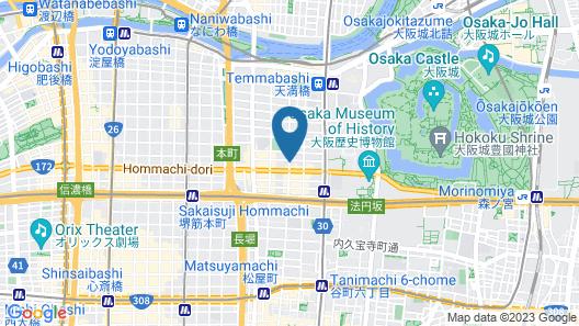 Hotel MyStays Otemae Map