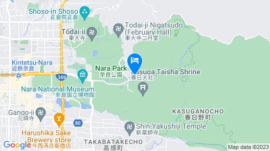 The Deer Park Inn Map