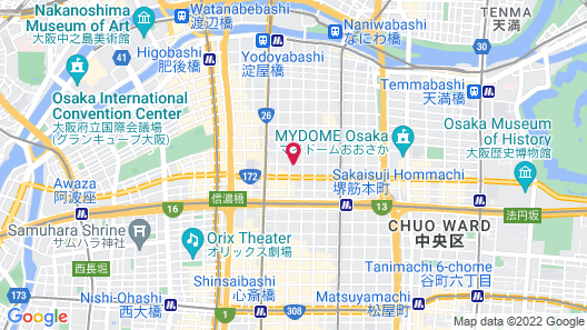 The OneFive Osaka Midosuji Map