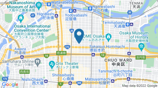 The OneFive Osaka Midosuji Map