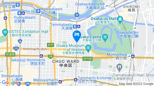 Apartment Clover Ootemae Map