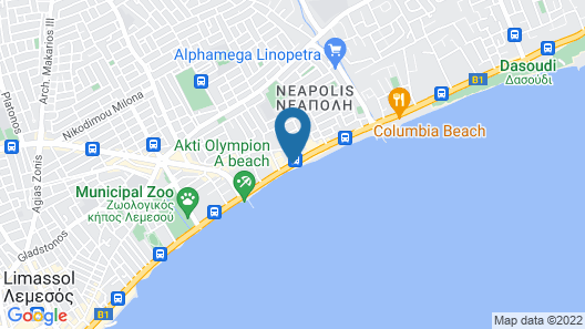 Olympic Residence Map