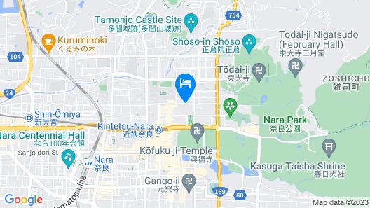 Hotel Nara No Hamori Map