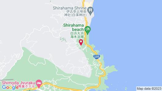 Hotel Izukyu Map