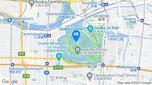 Chachamaru Osaka Castle Map