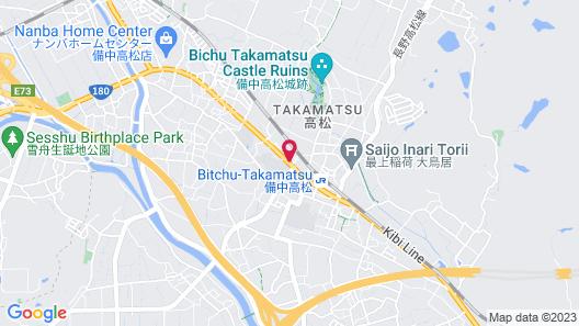 Family Lodge Hatagoya Okayama Map