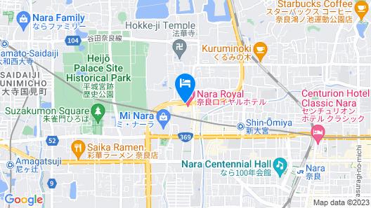 Nara Royal Hotel Map