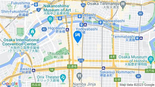 The Royal Park Hotel Iconic Osaka Midosuji Map