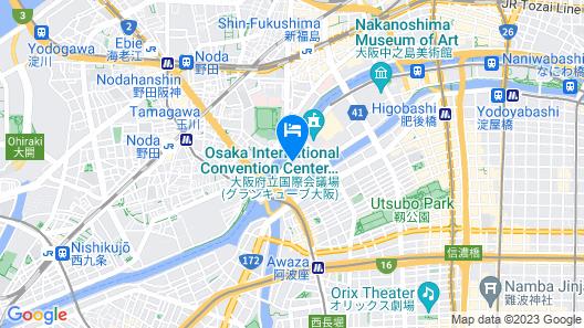 Nakanoshima Plaza Map