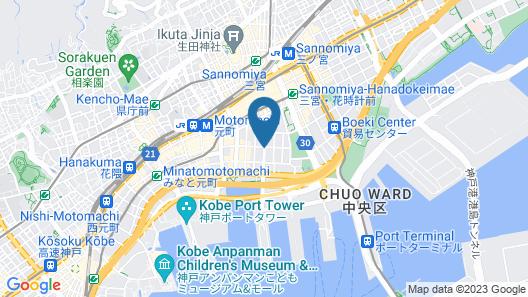 Oriental Hotel Map