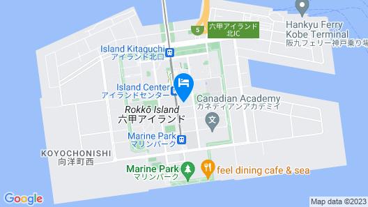 HOTEL PLAZA KOBE Map